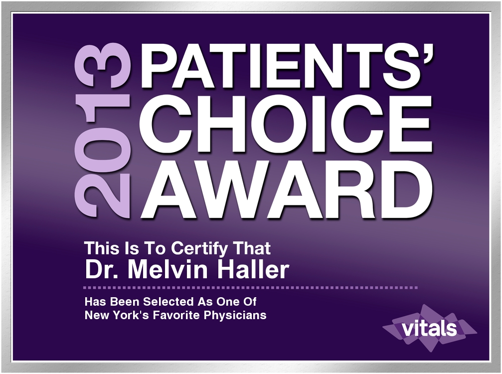 Haller Eye Center Doctors Win Prestigious Patients Choice Awards